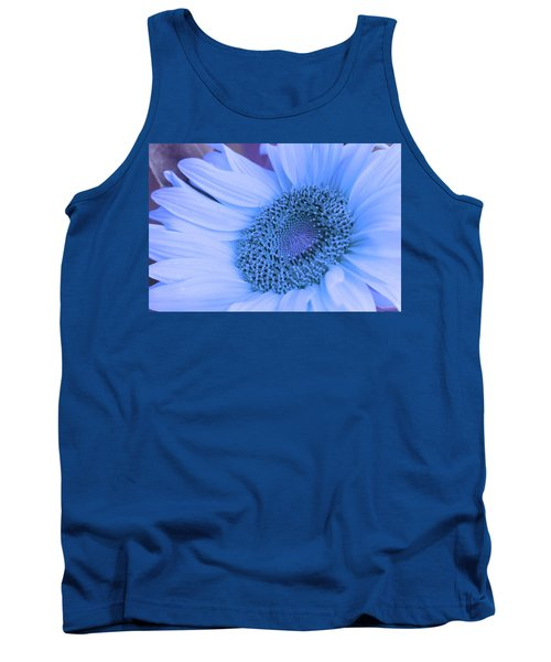 Daisy Blue Tank Top by Marie Leslie