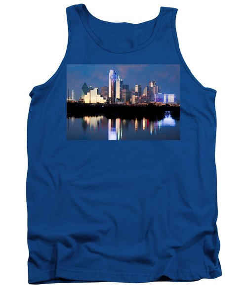 Dallas Skyline May 2015 Tank Top