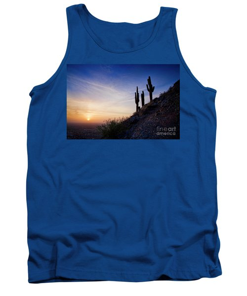Days End In The Desert Tank Top