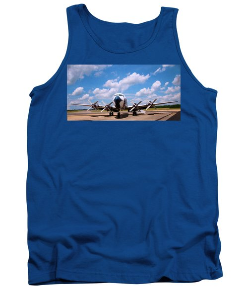 Tank Top featuring the digital art Dc 7 by Chris Flees