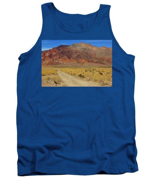 Death Valley Superbloom 205 Tank Top by Daniel Woodrum