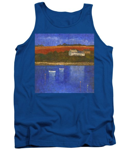 Deep Blue Tank Top