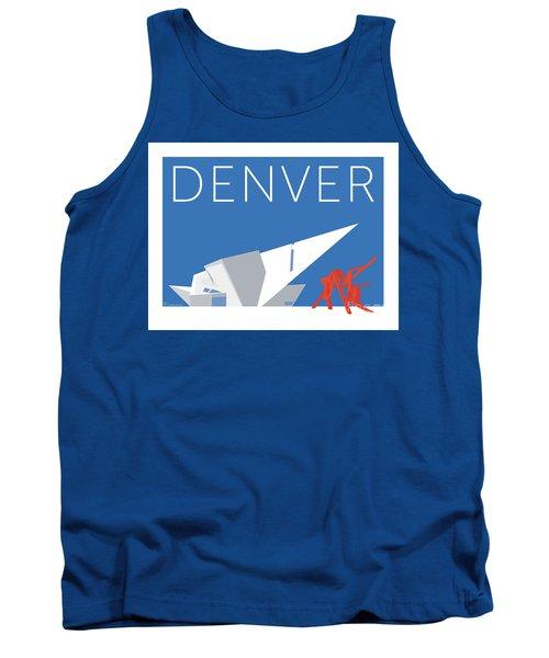 Denver Art Museum/blue Tank Top