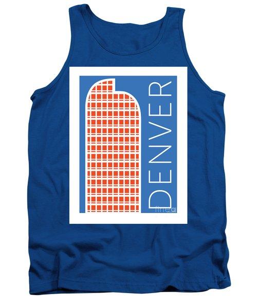 Denver Cash Register Bldg/blue Tank Top