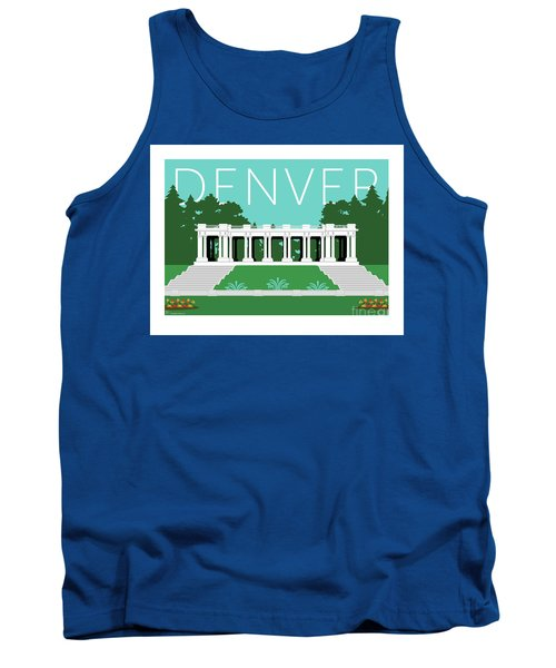 Denver Cheesman Park/lt Blue Tank Top