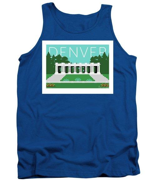 Denver Cheesman Park/lt Blue Tank Top