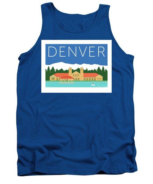 Denver City Park/blue Tank Top