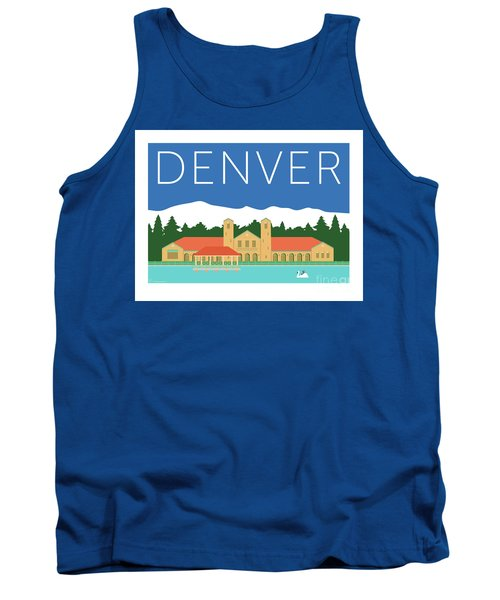 Denver City Park/blue Tank Top