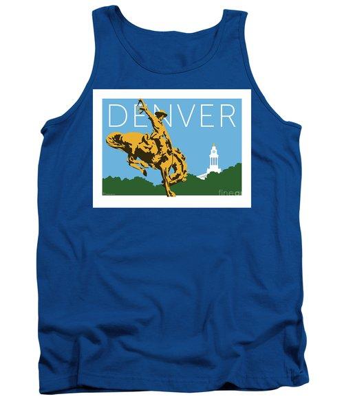 Denver Cowboy/sky Blue Tank Top