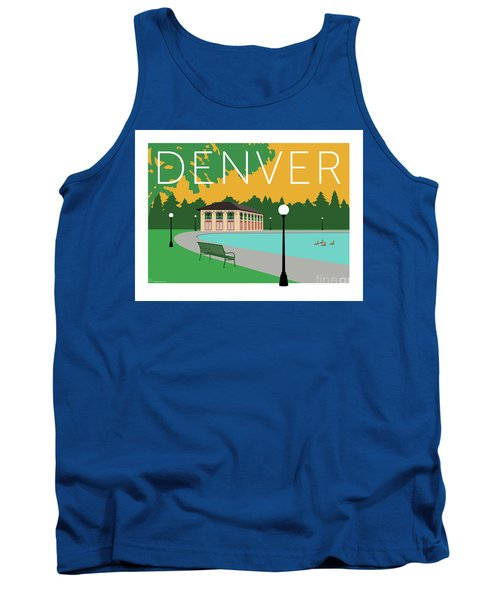 Denver Washington Park/gold Tank Top