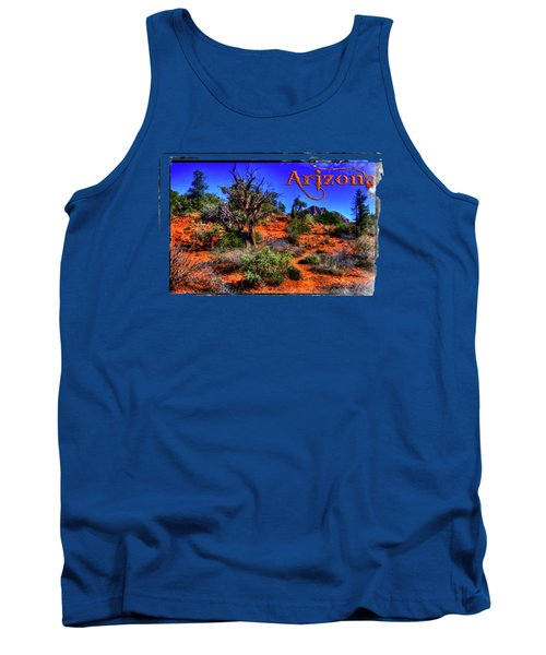 Desert And Mountains Tank Top