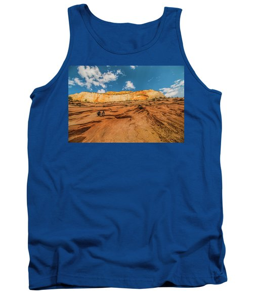 Desert Solitaire With A Friend Tank Top