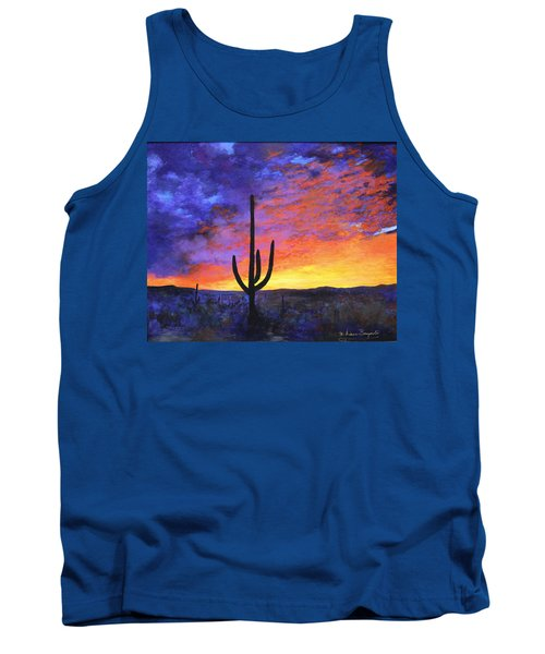 Desert Sunset 4 Tank Top