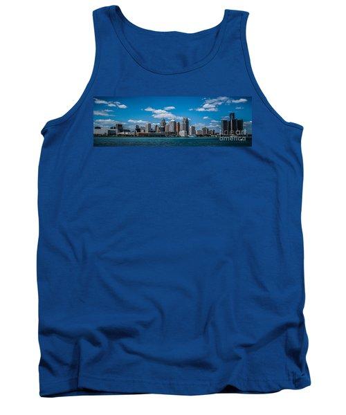 Detroit Skyline Tank Top