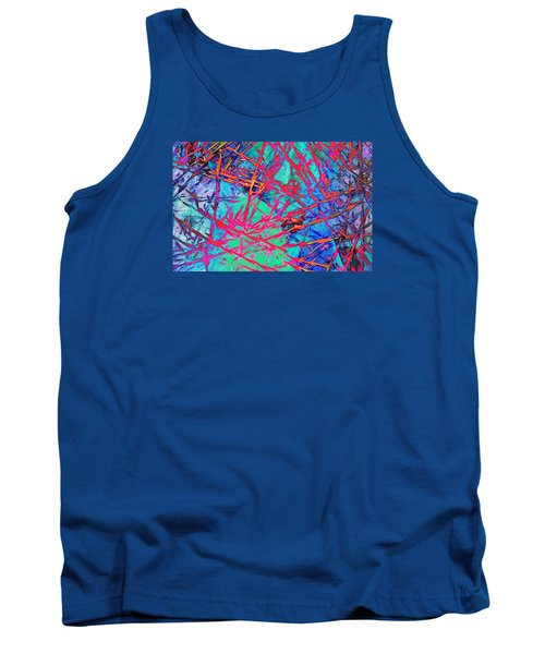 Tank Top featuring the photograph Devil's Rope by Bob Pardue