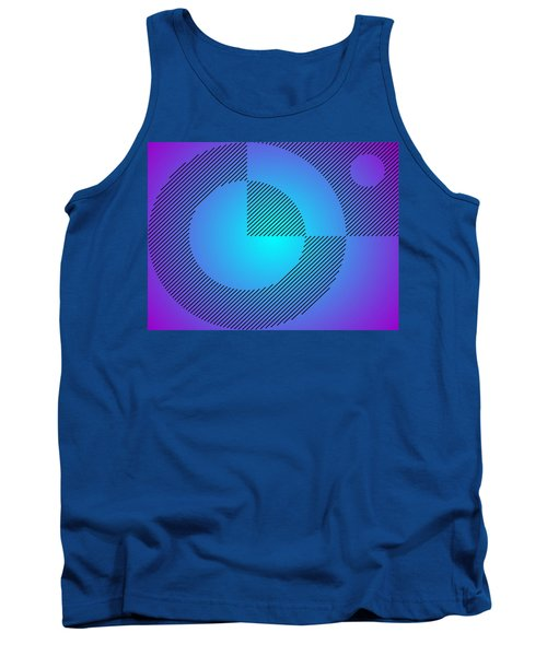 Digital Abstract Art 001 A Tank Top by Larry Capra