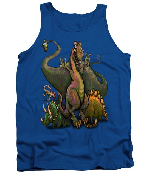 Dinosaurs Tank Top by Kevin Middleton