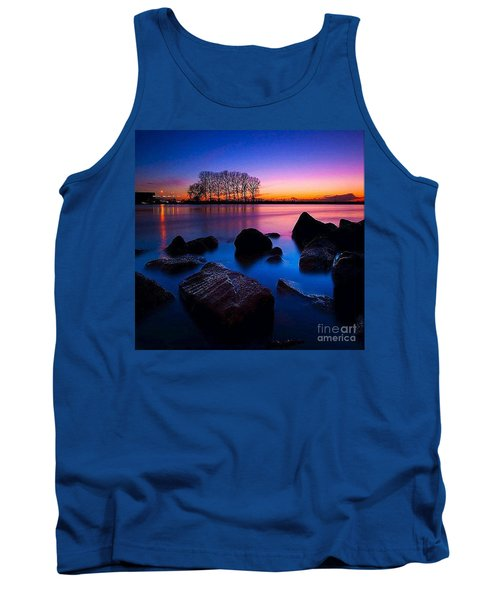 Distant Shores At Night Tank Top