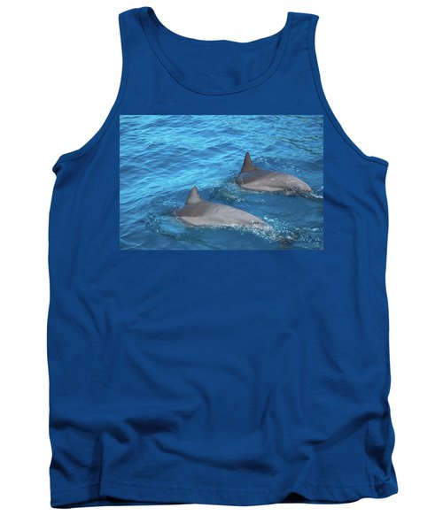 Dive On In Tank Top