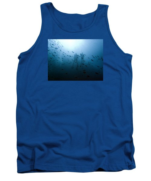 Diving With Fishes Tank Top