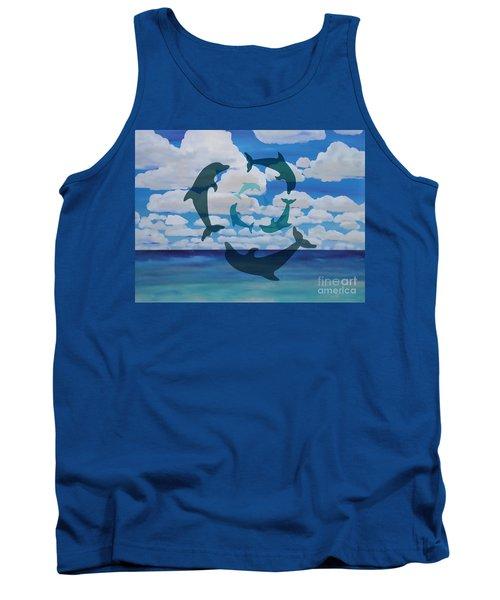 Dolphin Cloud Dance Tank Top
