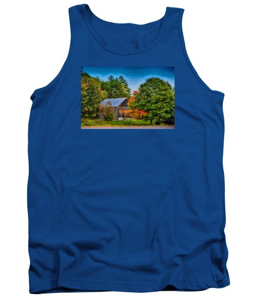 Done With Summer Tank Top by Tricia Marchlik