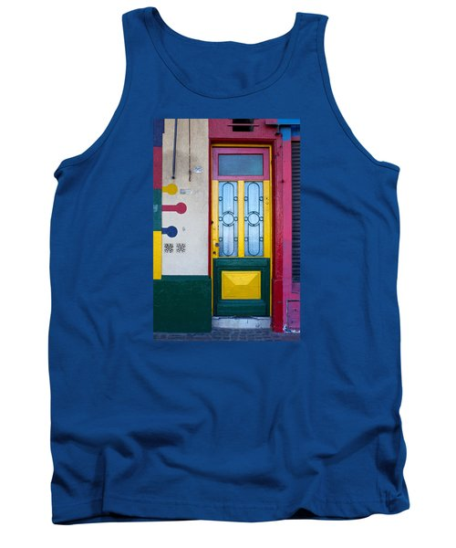 Doors Of San Telmo, Argentina Tank Top