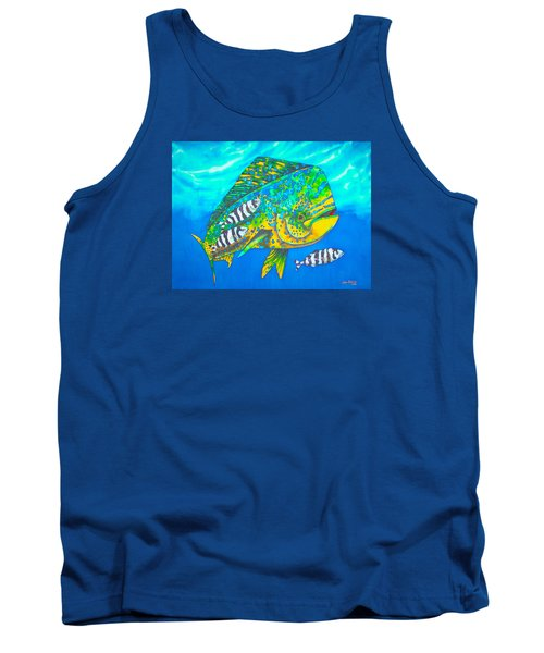 Dorado And Pilot Fish - Mahi Mahi Fish Tank Top