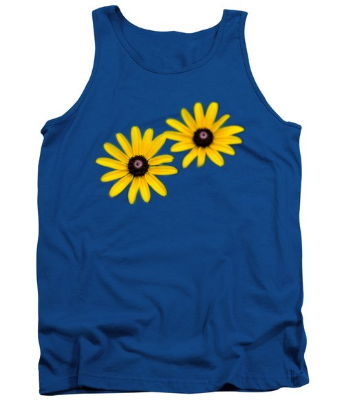 Tank Top featuring the photograph Double Daisies by Christina Rollo