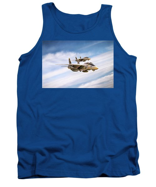 Tank Top featuring the digital art Double Nuts by Peter Chilelli