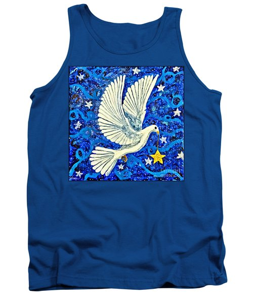 Dove With Star Tank Top