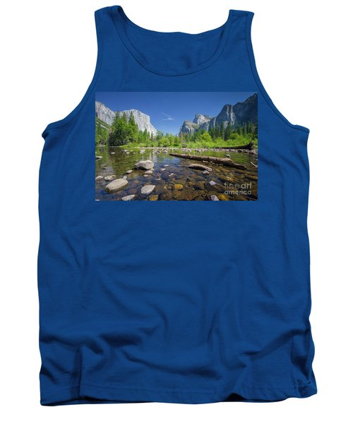 Down In The Valley Tank Top by JR Photography