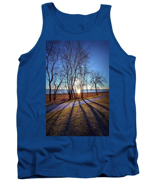 Tank Top featuring the photograph Down This Way We Meander by Phil Koch