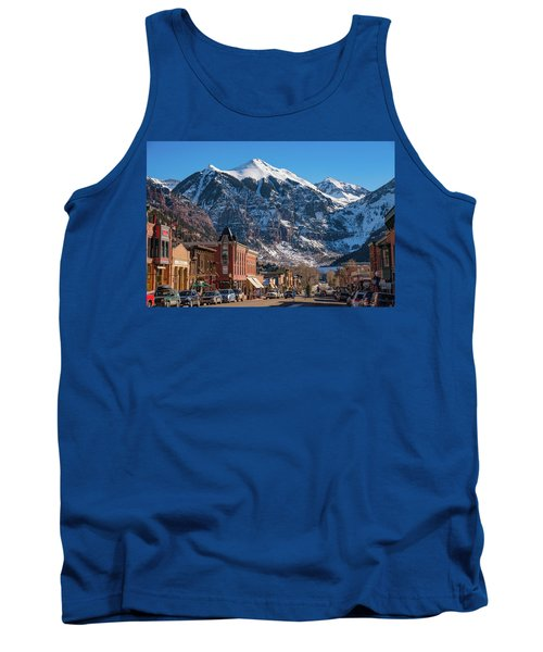 Downtown Telluride Tank Top