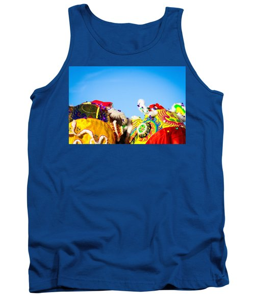 Tank Top featuring the photograph Dragon Dance by Bobby Villapando