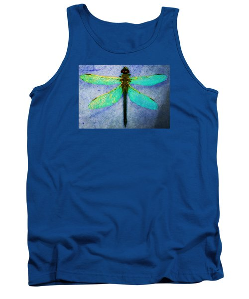 Tank Top featuring the photograph Dragonfly 5 by Timothy Bulone