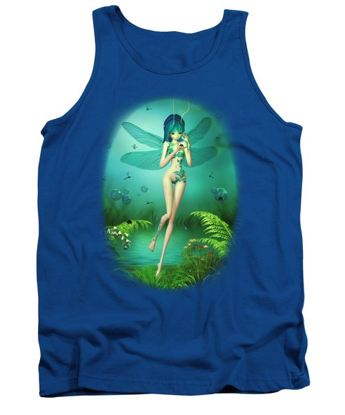 Dragonfly Flitters Tank Top
