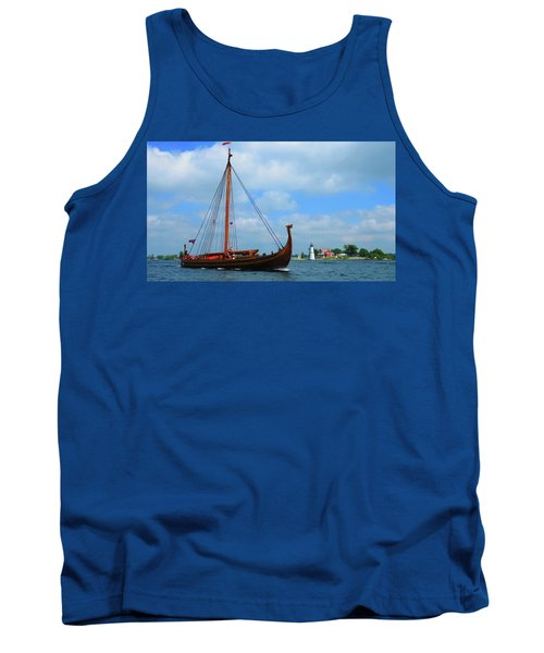 The Draken Passing Rock Island Tank Top
