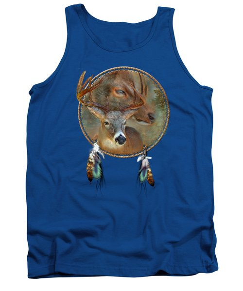 Dream Catcher - Spirit Of The Deer Tank Top