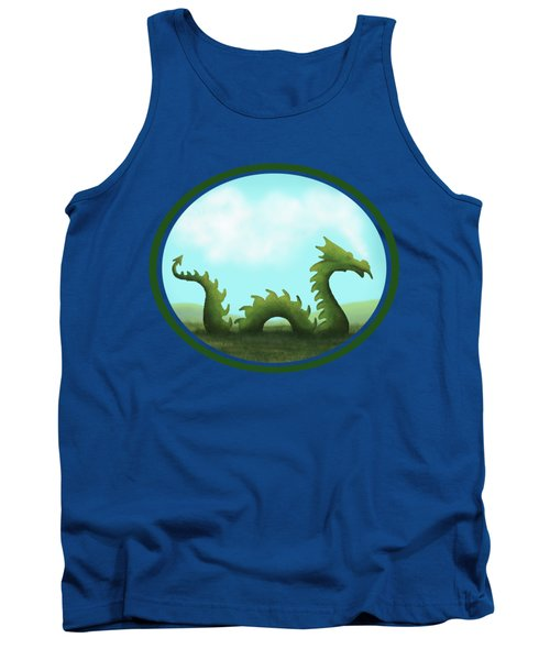 Dream Of A Dragon Tank Top by Little Bunny Sunshine
