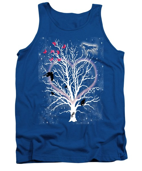 Dreamcatcher Tree Tank Top by Methune Hively