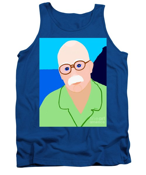 Tank Top featuring the painting Dreaming Of Retiring To Hawaii by Marian Cates