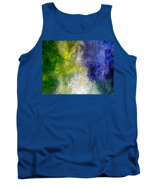 Tank Top featuring the painting Dreams by Joel Tesch