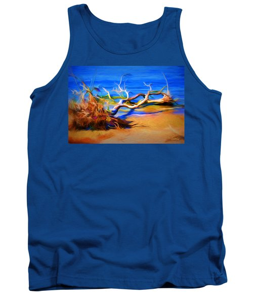 Driftwood Tank Top by Ludwig Keck