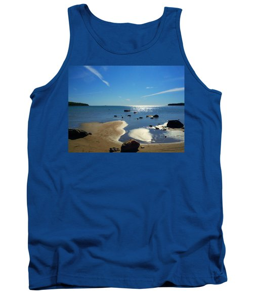 Drummond Shore 1 Tank Top by Desiree Paquette