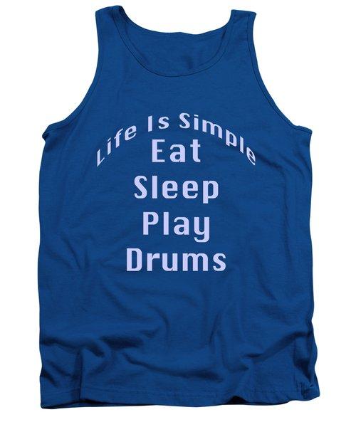 Drums Eat Sleep Play Drums 5513.02 Tank Top
