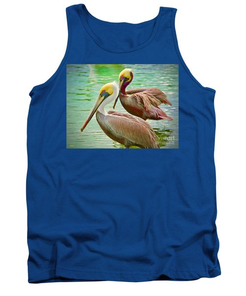Duets Tank Top by Judy Kay