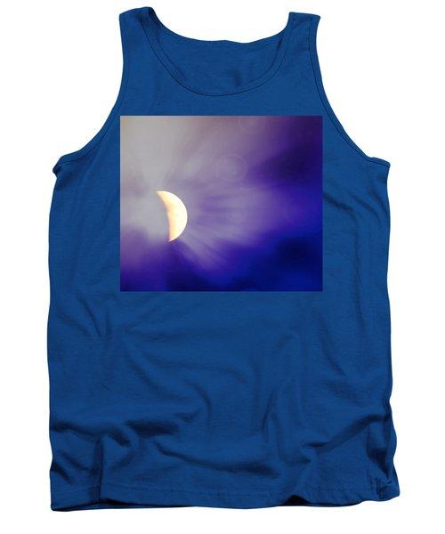 Aries Moon During The Total Lunar Eclipse 3 Tank Top