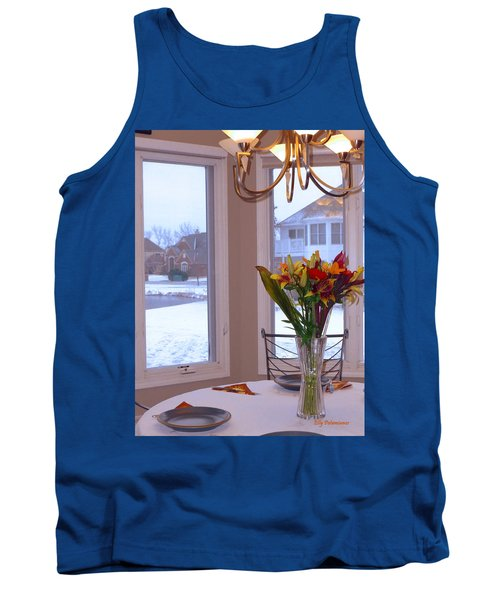 Dusk Dining View Tank Top