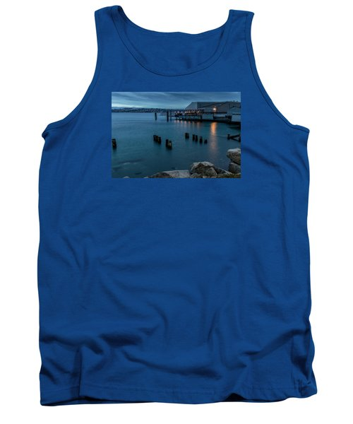 Dusk Falls Over The Lobster Shop Tank Top